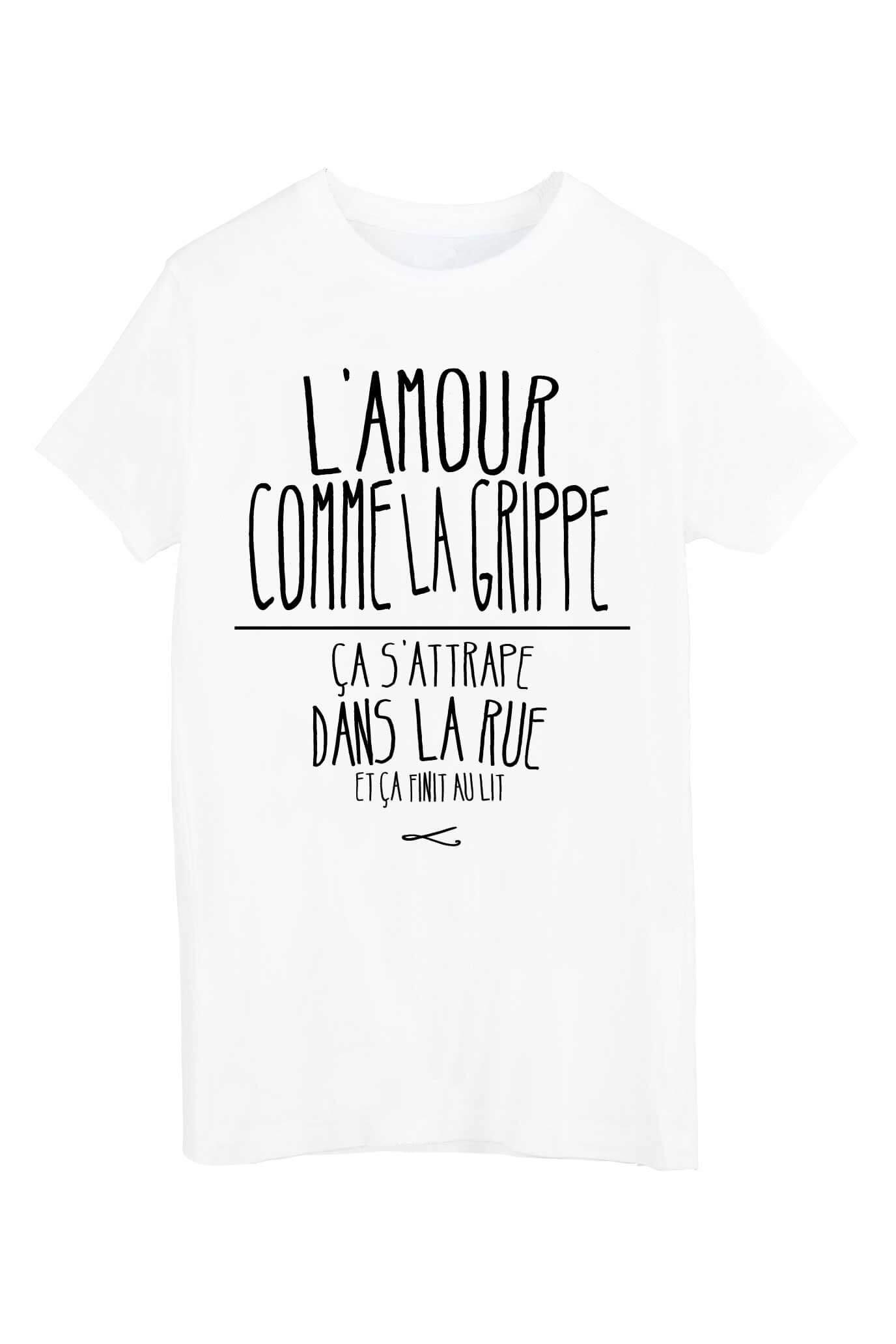 Souvent shirt femme phrase JC43
