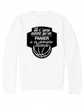 sweat-blanc-basket-vnoir