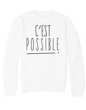 cestpossible-sweatblanc