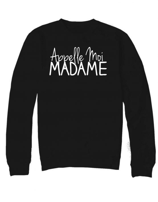appellemoimadame-sweat-noir