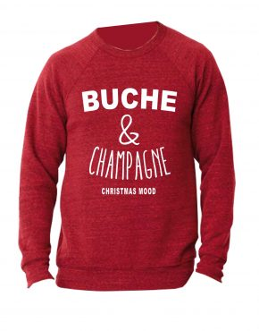 bucheetchampagne-sweat-rouge