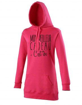 mon-meilleur-cadeau-hoodie-rose